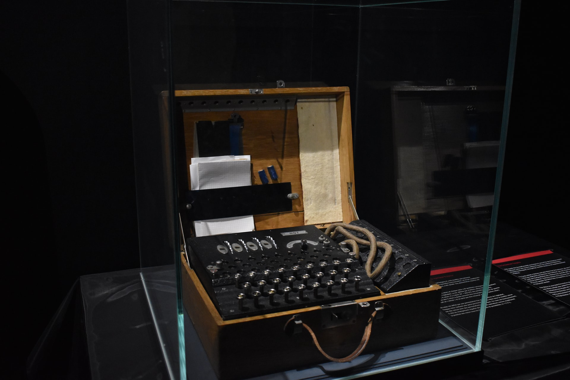 An Enigma cipher machine which is probably easier to understand than OpenPGP